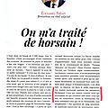 Un éditorial d'edouard fremy: aimer la normandie... malgré tout!