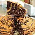 Gâteau tigré ultra moelleux
