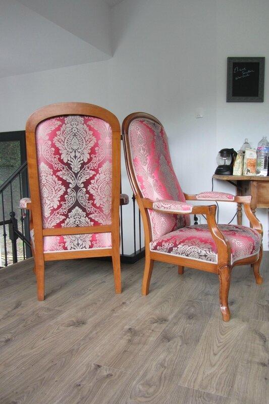 réfection de fauteuils côté sièges