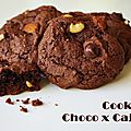 Cooking time : cookies choco x cajou [vegan]