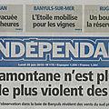 Article de l'indépendant