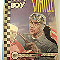Bande dessinée super boy sport automobile jean pierre wimille n°3 impéria 1951