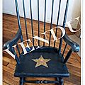 rocking chair vendu