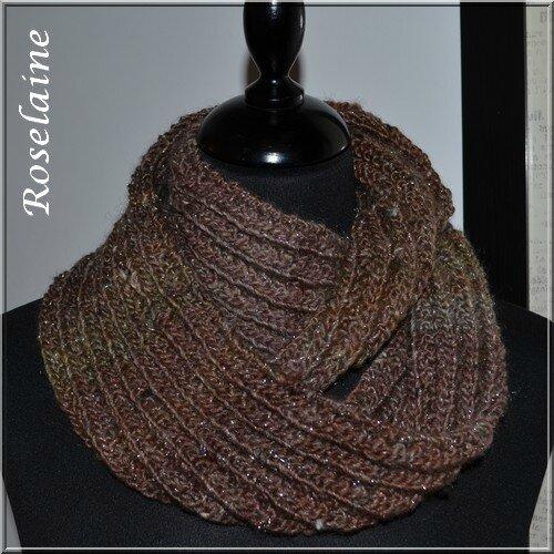 Roselaine 03 Adriafil Cristallo scarf
