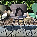 Chaises Hitier