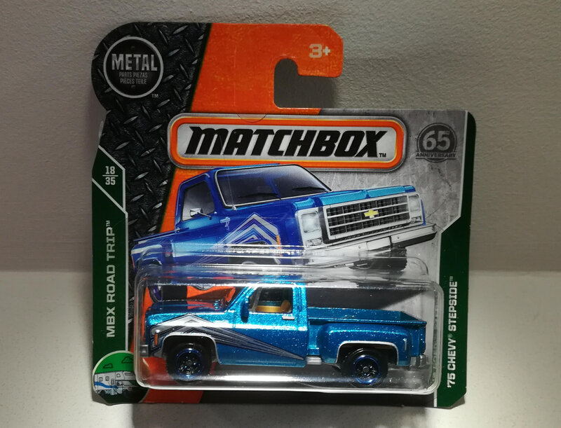 Chevrolet Stepside de 1975 (Matchbox)