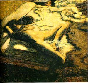 Bonnard_femme_assoupie_sur_un_lit