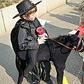 Déguisement de Zorro avec tornado