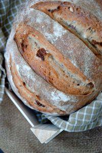 pain levain, noisettes et abricots secs3