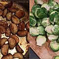 Choux de bruxelles à l'ail caramélisé et aux zestes de citron confits de yotam ottolenghi