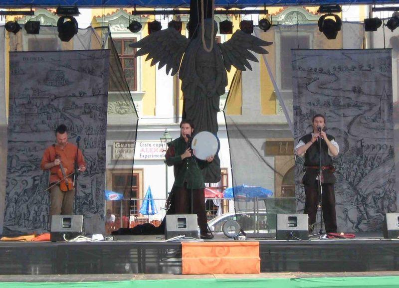 SIKINIS Festival de Pilsen (République tchèque) juin 2008.