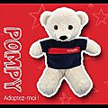 Peluche pompy - sapeurs pompiers de france boutique officielle