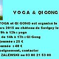 . -stage yoga - qi gong