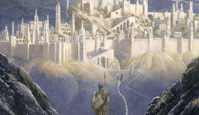 Gondolin par Alan Lee