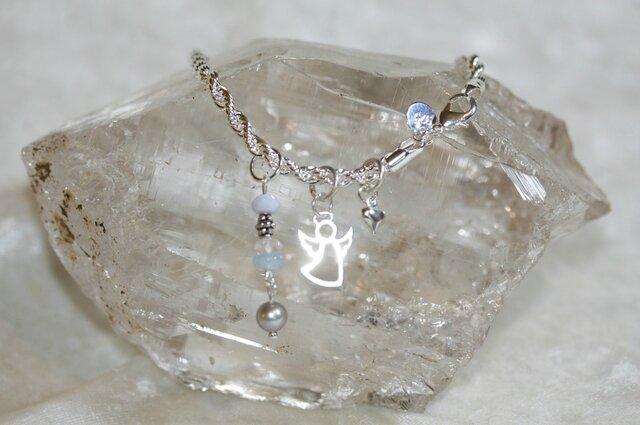 bracelet ange bleu1