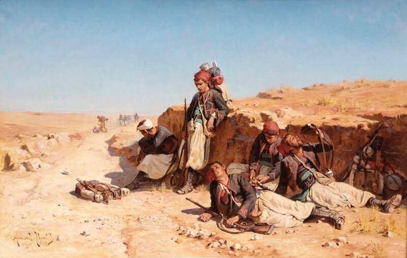 Armand Point Campagne de Tunisie