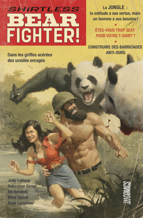 hicomics shirtless bear fighter