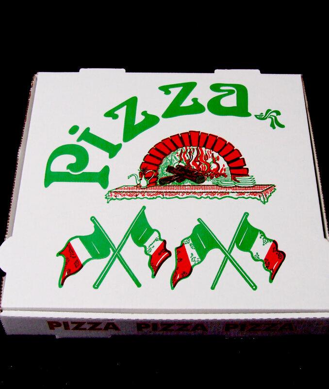 pizza bonbon boite