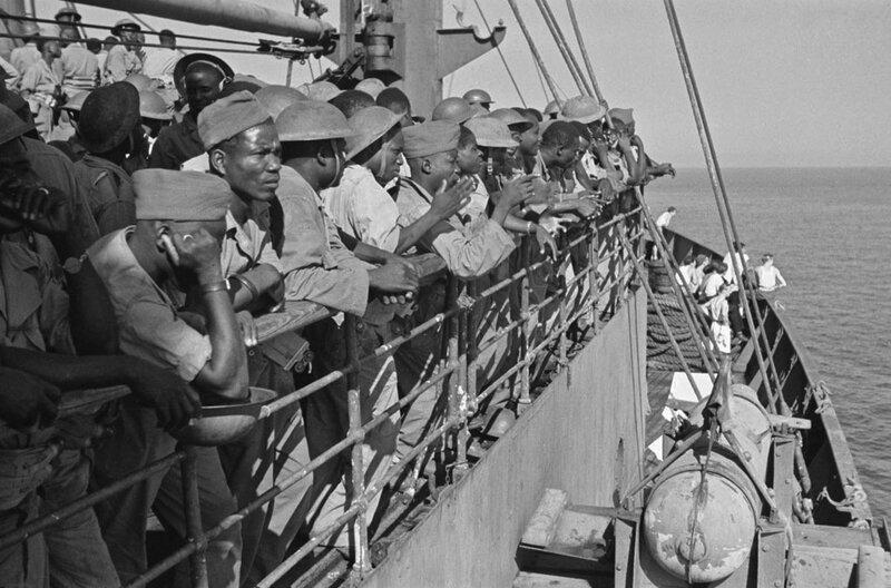 Tirailleurs sénégalais août 1944