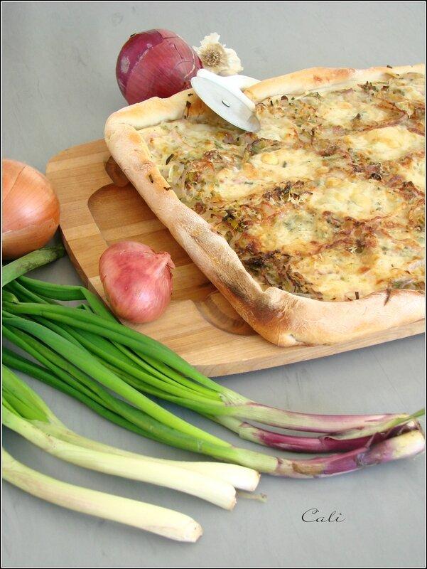 Pizza aux 7 Oignons 002