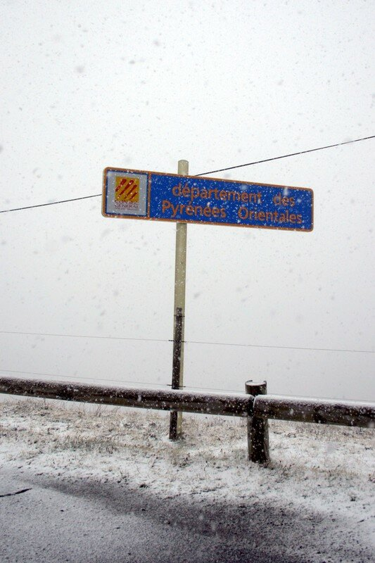 Neige au Col d'Ares