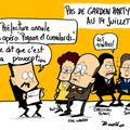 Garden party,elysée, nicolas sarkozy, annulation et apéro géant faillite