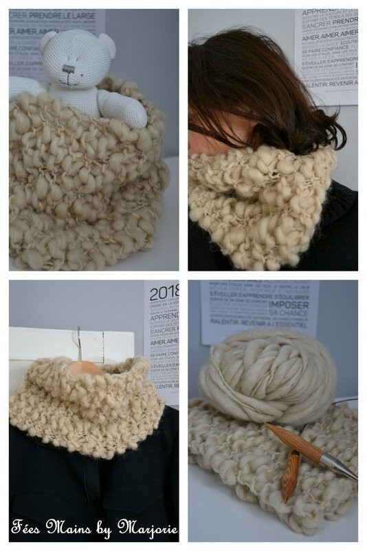 Snood phil naturel1