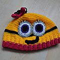 Bonnet minion n°4