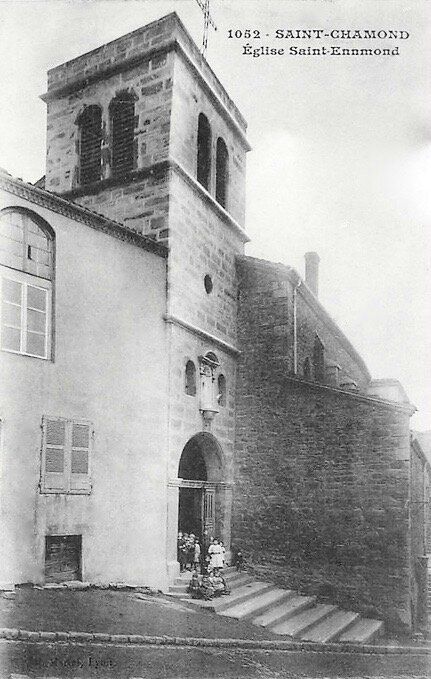 église Saint-Ennemond cpa