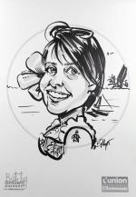 caricatures dessins tahiti polynesie vahine mariage