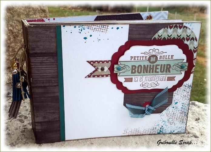 "Mini-album ""Petite bulle de Bonheur"""