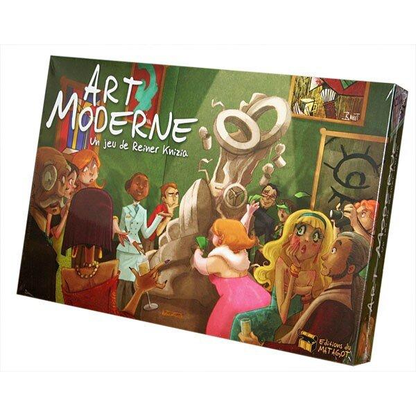 Boutique jeux de société - Pontivy - morbihan - ludis factory - Art moderne