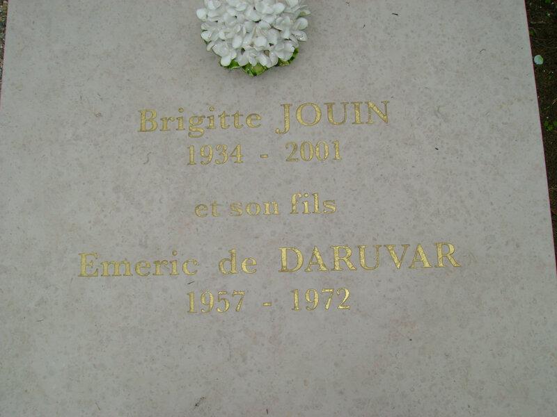 269 - Tombe Jouin-de Daruvar