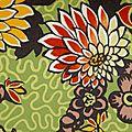 Meandering Chrysanthemums, saisonnier PE 2012