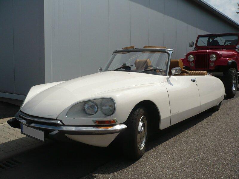 CITROËN DS cabriolet Sinsheim (1)