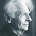 Claude vigée (1921 -2020) : passant près d'un banc vide / ich geh àm e läre bänkel verbéi