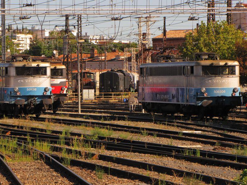 BB 9300 au dépôt de Toulouse