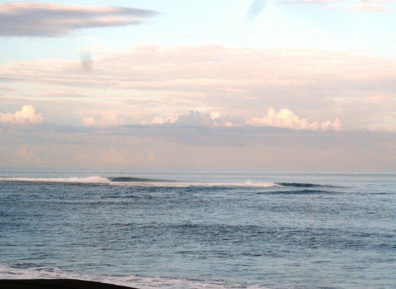 le matin les yeux collés la mer lisse