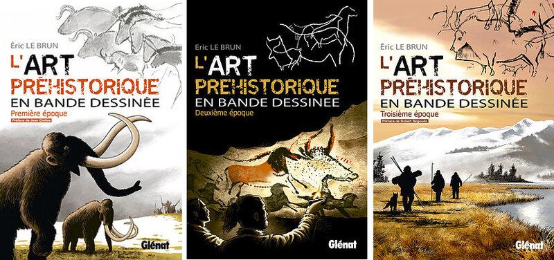 L'art préhistorique en BD - Glénat