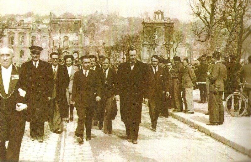 Billoux au Havre 31 mars 1946