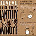 Produit epuise - faites de la chantilly maison en 1 minute