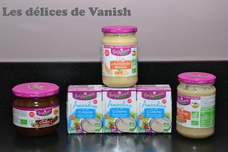 perl'amande - produits bio - sésame - nutella sans huile de palme