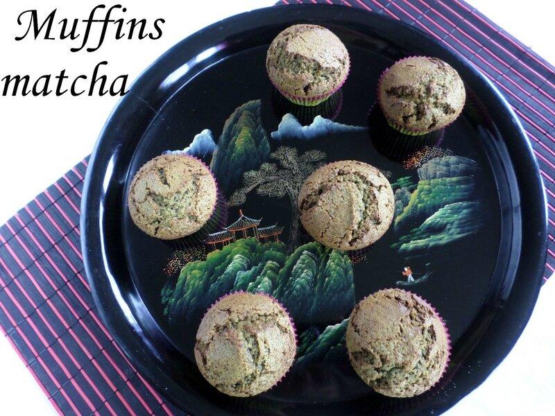 muffins-matcha