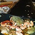 Tajine de saumon & fenouil