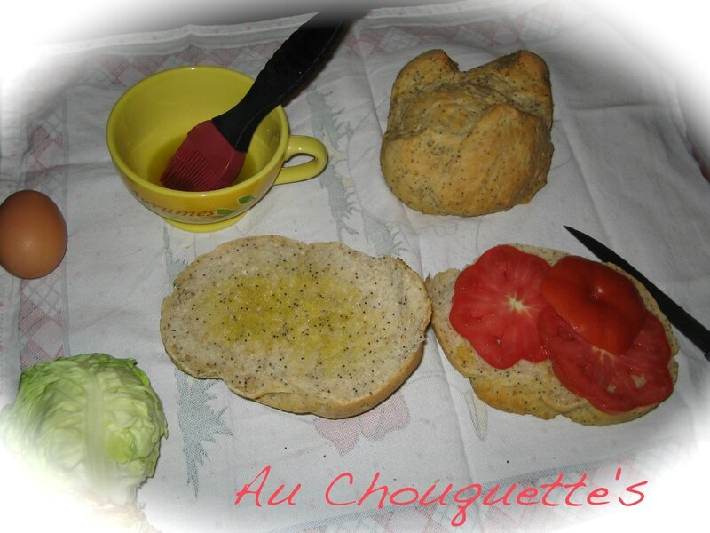 PAINS AUX GRAINES POUR SANDWICH 1