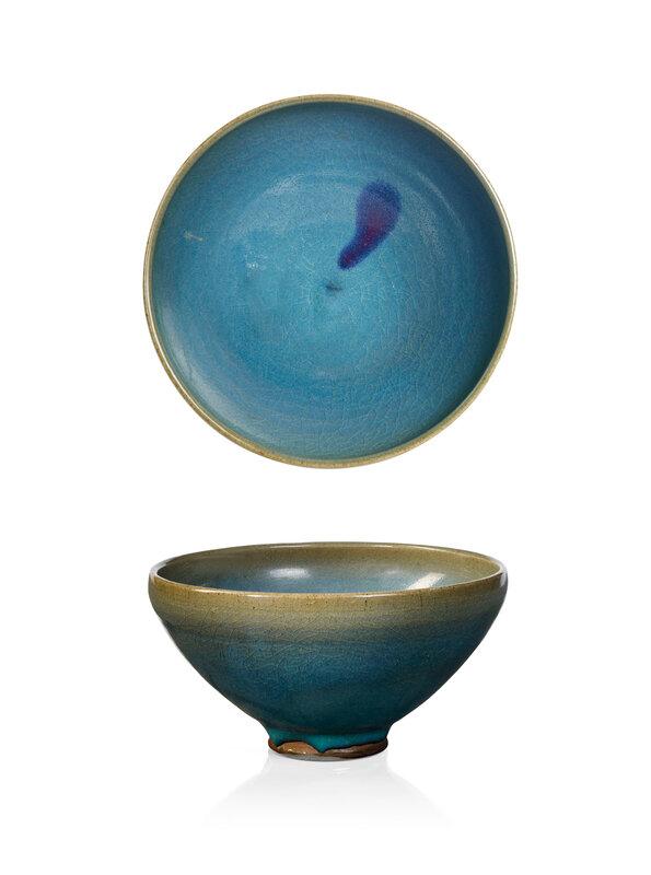 AJunyaopebble bowl, China, Yuan dynasty (1279-1368)