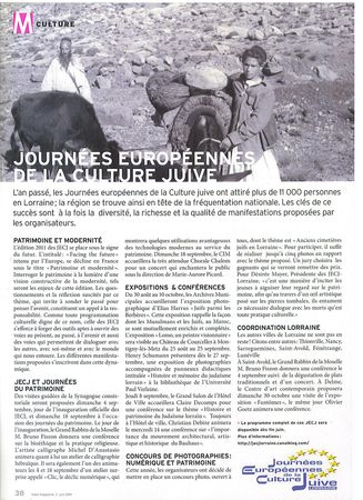 Article_Metz_magazine_juin_2011