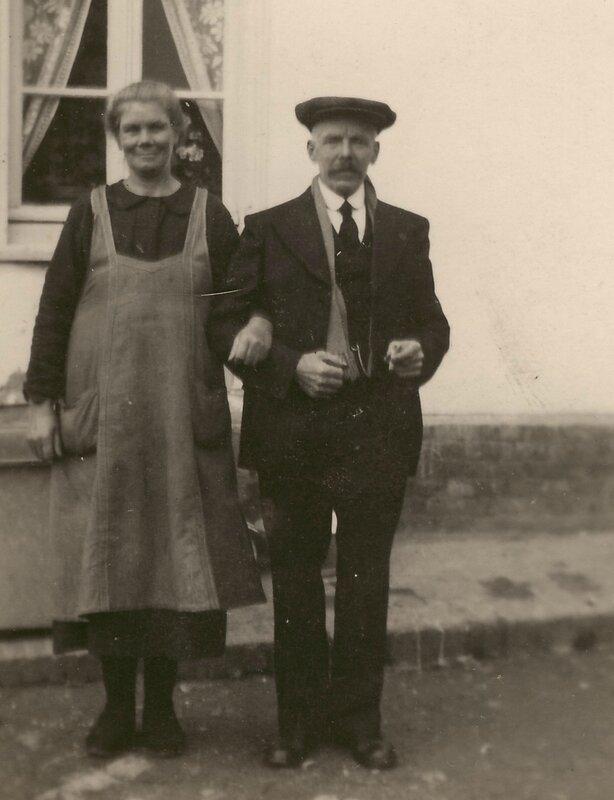 Alphonsine Sueur et Victor Froidure 1939