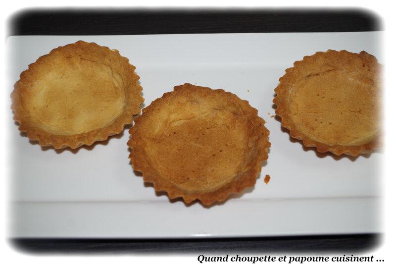 tartelettes aux fraises et crème au safran-6929