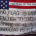 Usa, the flag of the shame and mystification